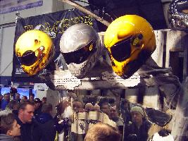 Helsingin moottoripyörämessut 31.1-2.2.2003. Kuva (c) 2003 Christiina Palmu.