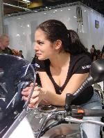 Helsingin moottoripyörämessut 31.1-2.2.2003. Kuva (c) 2003 Timo Muilu.