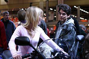 Moottoripyörämessut 2004 - (c) Christina Palmu