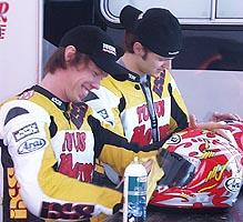 Penna ja Lauslehto olivat mukana RR:n EM avauksessa. (c) 2004
