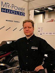 Tuusulan paroni, Kari Ollilainen tähyää kauteen 2005 luottavaisin mielin. Kuva (c) Tero Kiira 2005