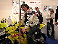 Teppo Siivonen panostaa tulevaan kauteen, ensimmäiseksi hän lupaa mennä parturiin. Kuva (c) Tero Kiira 2005