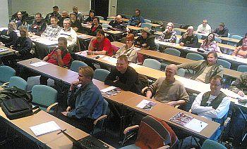 SMOTOn kerhokonferenssissa oli yli 50 henkeä kymmenistä eri kerhoista.